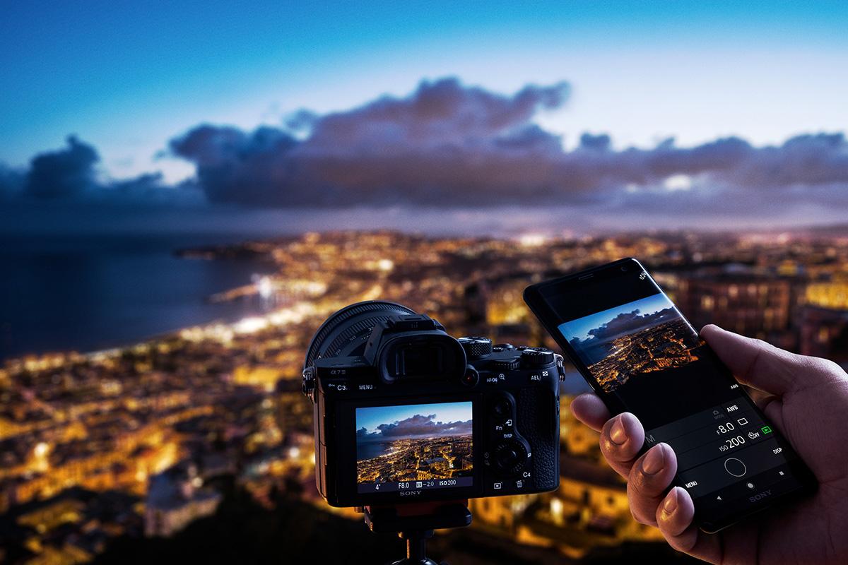 Paso a paso para conectar tu cámara con Imaging Edge Mobile
