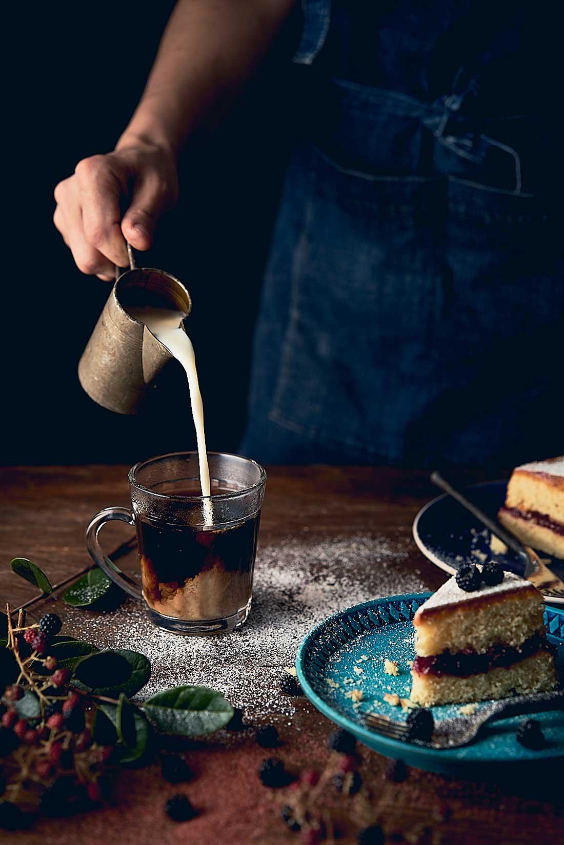 Composición básica en fotografía de alimentos por Andrés Bermúdez