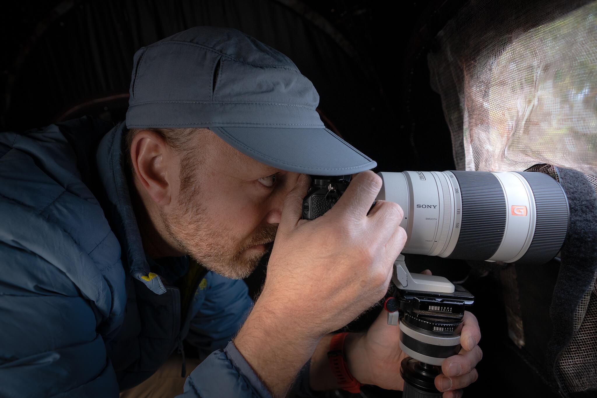 El lenguaje visual en la fotografía de naturaleza por Jean Paul de la Harpe