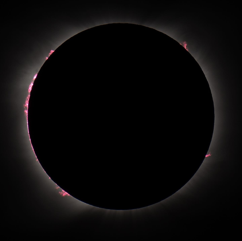 Revive el eclipse de Sol en primera persona