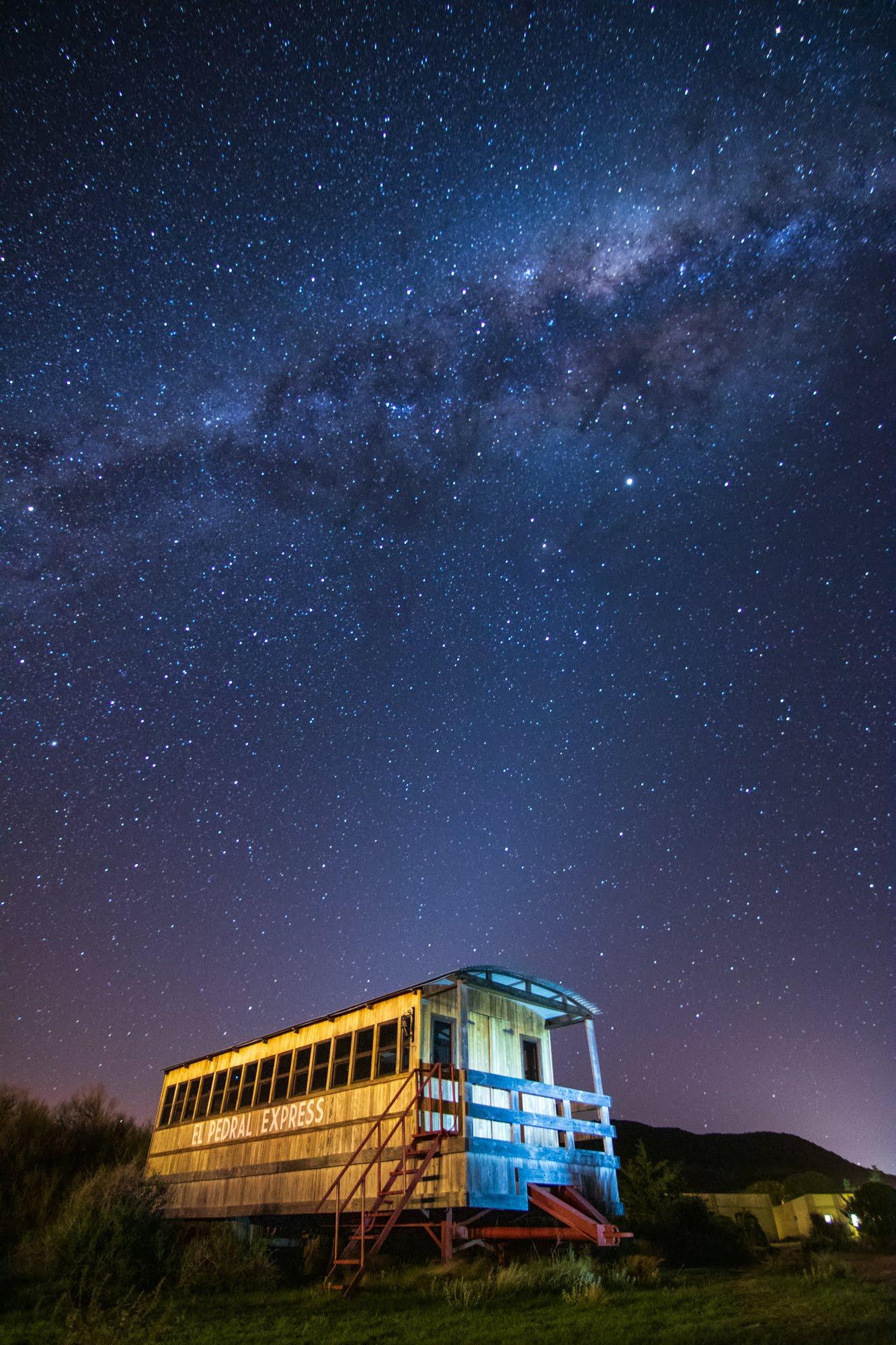 Fotografía Nocturna de paisajes