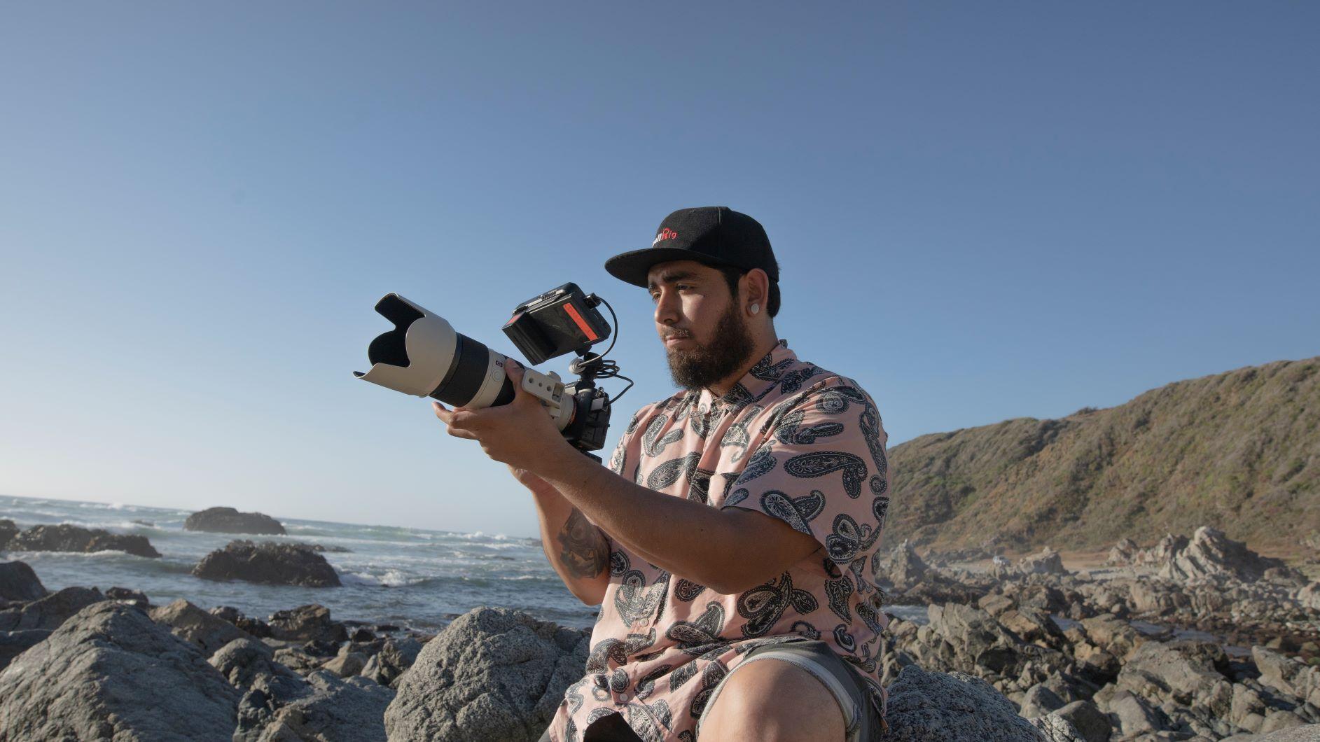 Felipe Cárcamo y su experiencia produciendo video clip