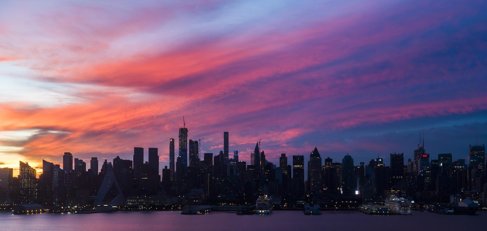 Cómo un fotógrafo está capturando un timelapse de 30 años de la ciudad de Nueva York